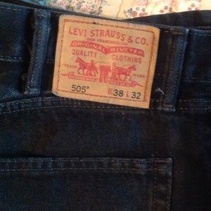 Levi's 505 size 38/32